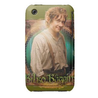 Carácter del ™ de BILBO BAGGINS con nombre Case-Mate iPhone 3 Protectores
