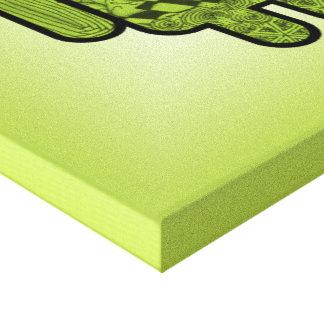 Carácter del Doodle de Paisley para Android™ Impresión En Tela
