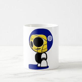 Carácter del jugador de la Bola-cabeza del water Taza Clásica