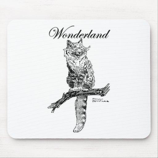 Carácter del país de las maravillas mouse pad