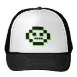 Carácter del pixel gorras