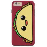 Carácter del Taco de Kawaii Funda Resistente iPhone 6 Plus