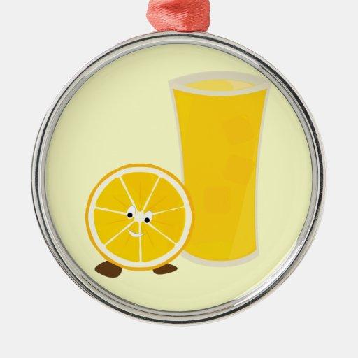 Carácter del vidrio y del naranja del zumo de ornamentos para reyes magos