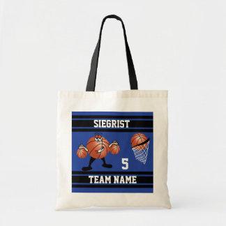 Carácter deportivo del baloncesto del dibujo