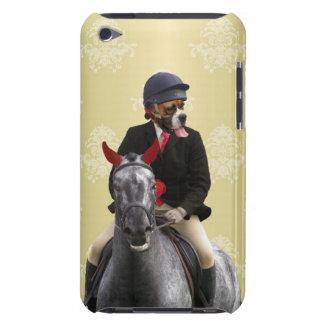 Carácter divertido del jinete del caballo barely there iPod protector