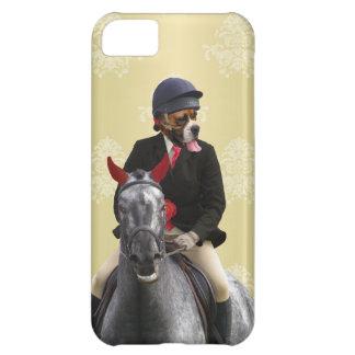 Carácter divertido del jinete del caballo funda para iPhone 5C