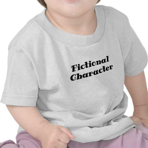 Carácter ficticio camisetas