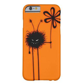 Carácter malvado anaranjado Halloween del insecto Funda Para iPhone 6 Barely There