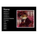 Carácter oscuro 10 del cuento de hadas - señora en tarjeta personal