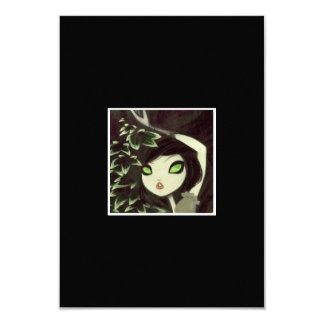 Carácter oscuro 16 del cuento de hadas invitaciones personalizada