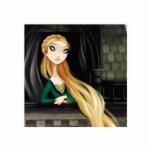 Carácter oscuro 2 del cuento de hadas - Rapunzel Escultura Fotografica