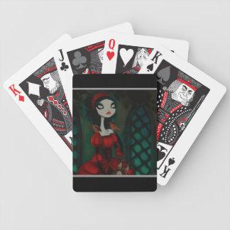Carácter oscuro 31 del cuento de hadas baraja de cartas