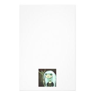 Carácter oscuro 6 del cuento de hadas papelería de diseño
