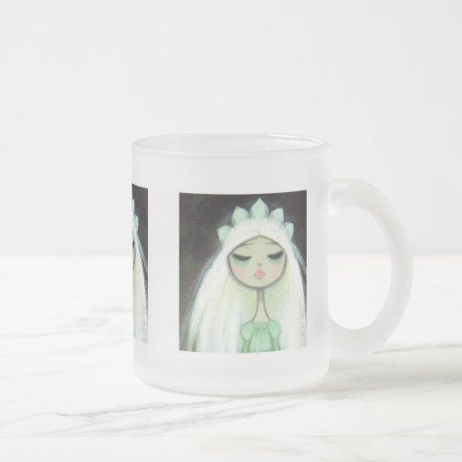 Carácter oscuro 9 del cuento de hadas - princesa t tazas de café