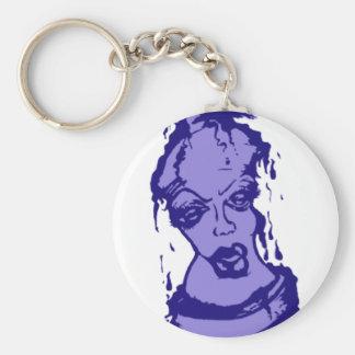 Carácter púrpura de la pintura de aerosol