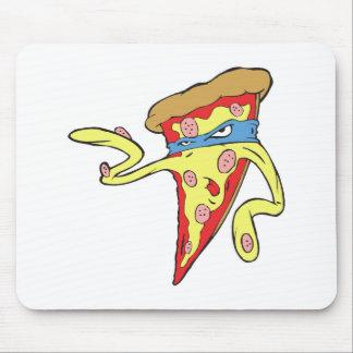carácter tonto de la pizza de salchichones del mal tapetes de raton