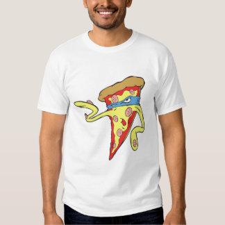 carácter tonto de la pizza de salchichones del poleras