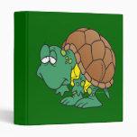 carácter torpe lindo de la tortuga del dibujo anim