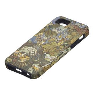 Caracteres clásicos del guión del vintage, Edmund iPhone 5 Case-Mate Protector