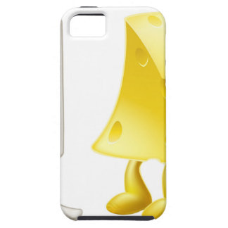 Caracteres de la tiza y del queso iPhone 5 Case-Mate carcasa