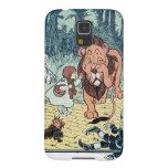 Caracteres de mago de Oz del vintage, camino amari Carcasas De Galaxy S5