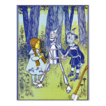Caracteres de mago de Oz del vintage Tarjetas Postales