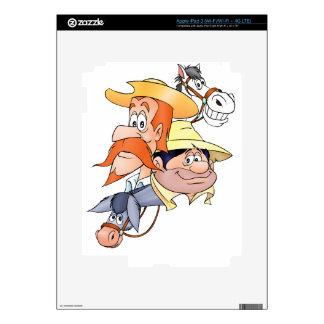 Caracteres de Quijote por el @QUIXOTEdotTV iPad 3 Skin