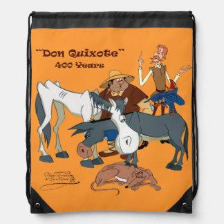 Caracteres de Quijote por el @QUIXOTEdotTV Mochila