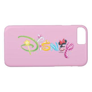 Caracteres del chica del logotipo el | de Disney Funda iPhone 7