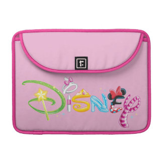 Caracteres del chica del logotipo el | de Disney Fundas Macbook Pro
