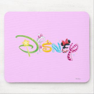 Caracteres del chica del logotipo el | de Disney Tapetes De Raton