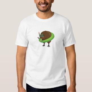 caracteres del libro del símil del kiwi camisas