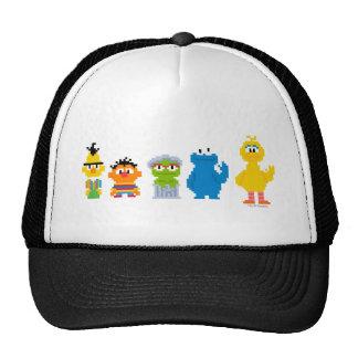 Caracteres del Sesame Street del pixel Gorro De Camionero
