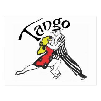 Caracteres del tango postal