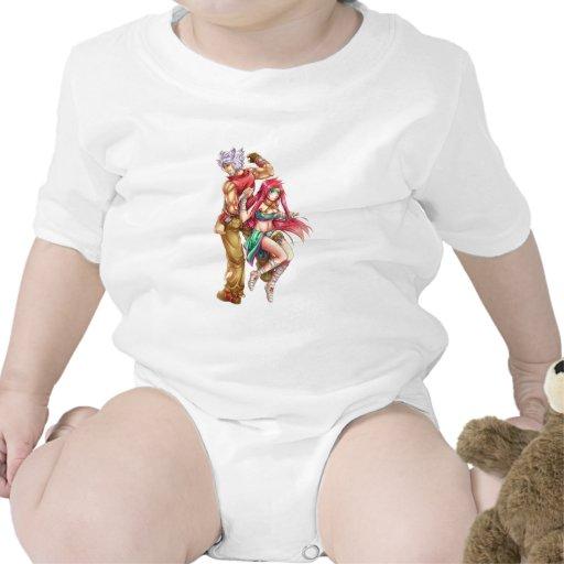 Caracteres icónicos trajes de bebé