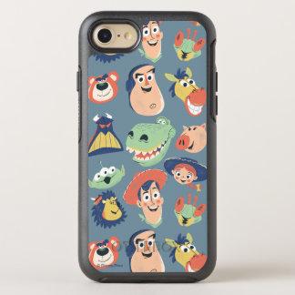 Caracteres pintados vintage de Toy Story Funda OtterBox Symmetry Para iPhone 7