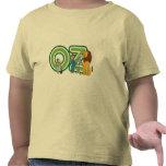 Caracteres y letras de mago de Oz del vintage