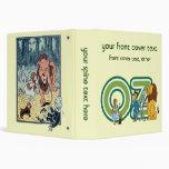 Caracteres y letras de mago de Oz del vintage Carpeta 3,8 Cm