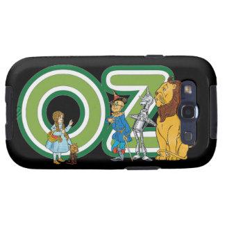 Caracteres y letras de mago de Oz del vintage Samsung Galaxy S3 Coberturas