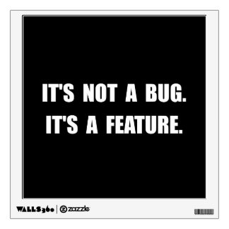 Característica del insecto vinilo
