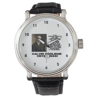 Característica del viejo nuevo Coolidge olvidado Relojes