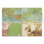 Características de Europa y mapa físicos de la pob Felicitaciones