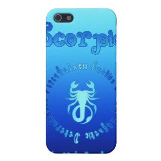 Características del escorpión muestra del agua de iPhone 5 cárcasas