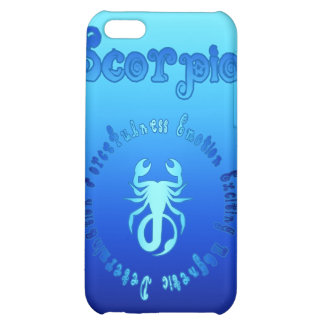 Características del escorpión muestra del agua de