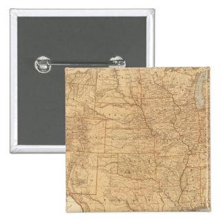 Características topográficas de Estados Unidos Pins