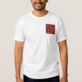Caracterización, personalidad del carácter camisas