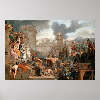 Caraffe Armand-Charles, Metellus Raising the Sie Print