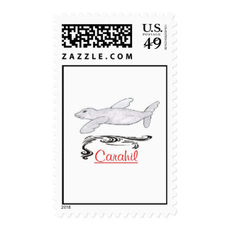 Carahil, stamps
