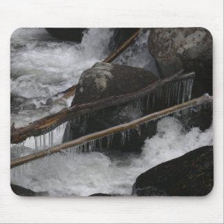 Carámbanos en las cascadas del Calypso Alfombrilla De Ratones