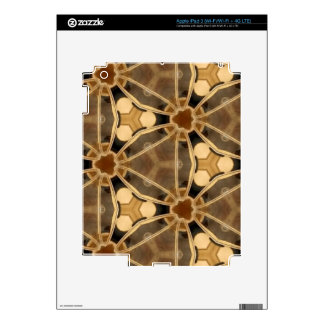 Caramel Abstract Decals For iPad 3